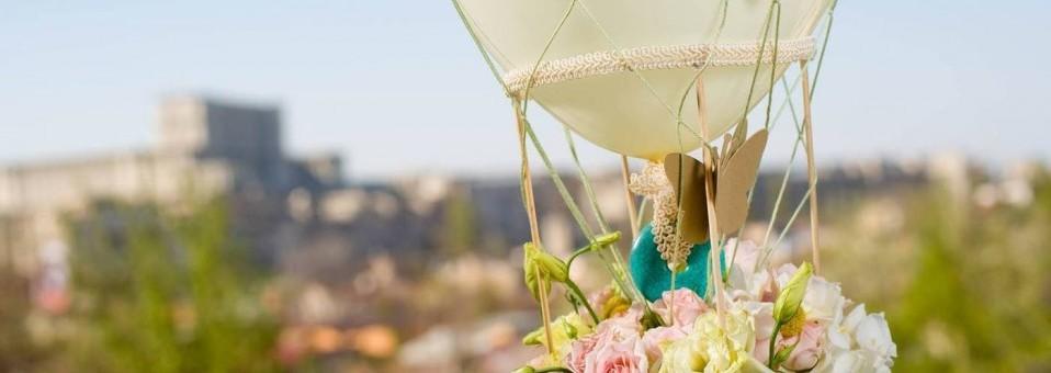 In spatele scenei cu designerul floral Oana Lamba