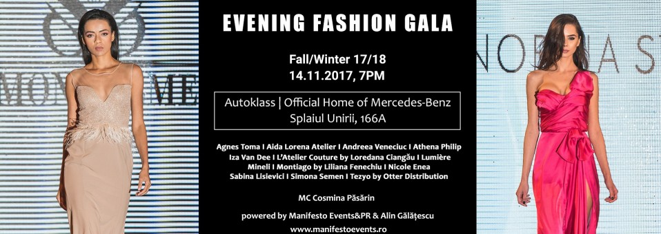 Evening Fashion Gala Fall/Winter 17/18