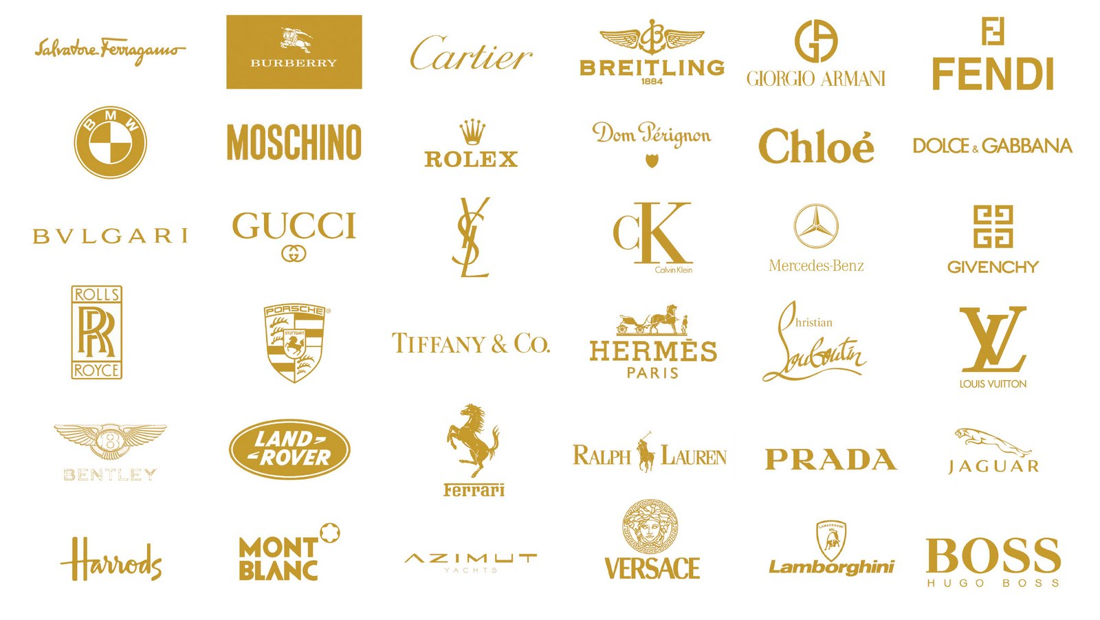 luxury branding logo