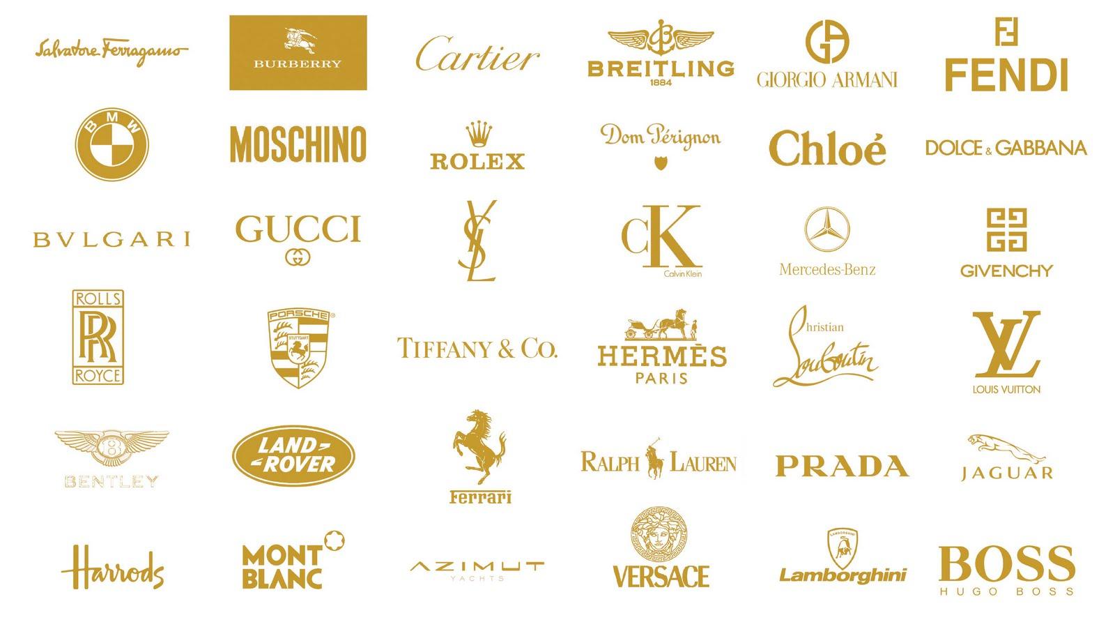 luxury branding logo
