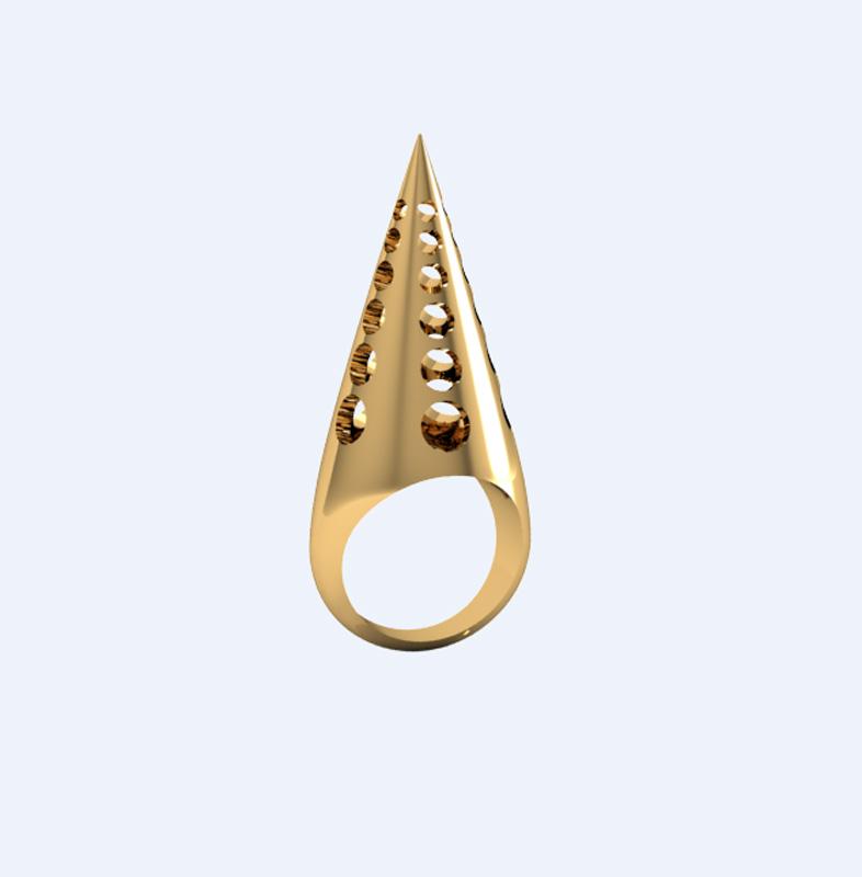 Sheida Farrokhi_Ring_Cone Ring